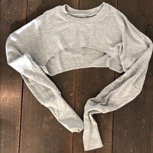 Alo Extreme Crop Sweatshirt
